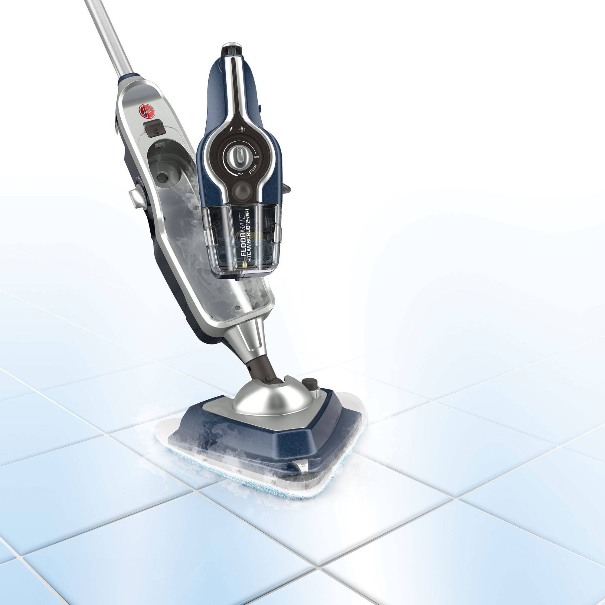 Hoover SteamScrub 2-In-1 Steam Mop, WH20440 - Walmart.com
