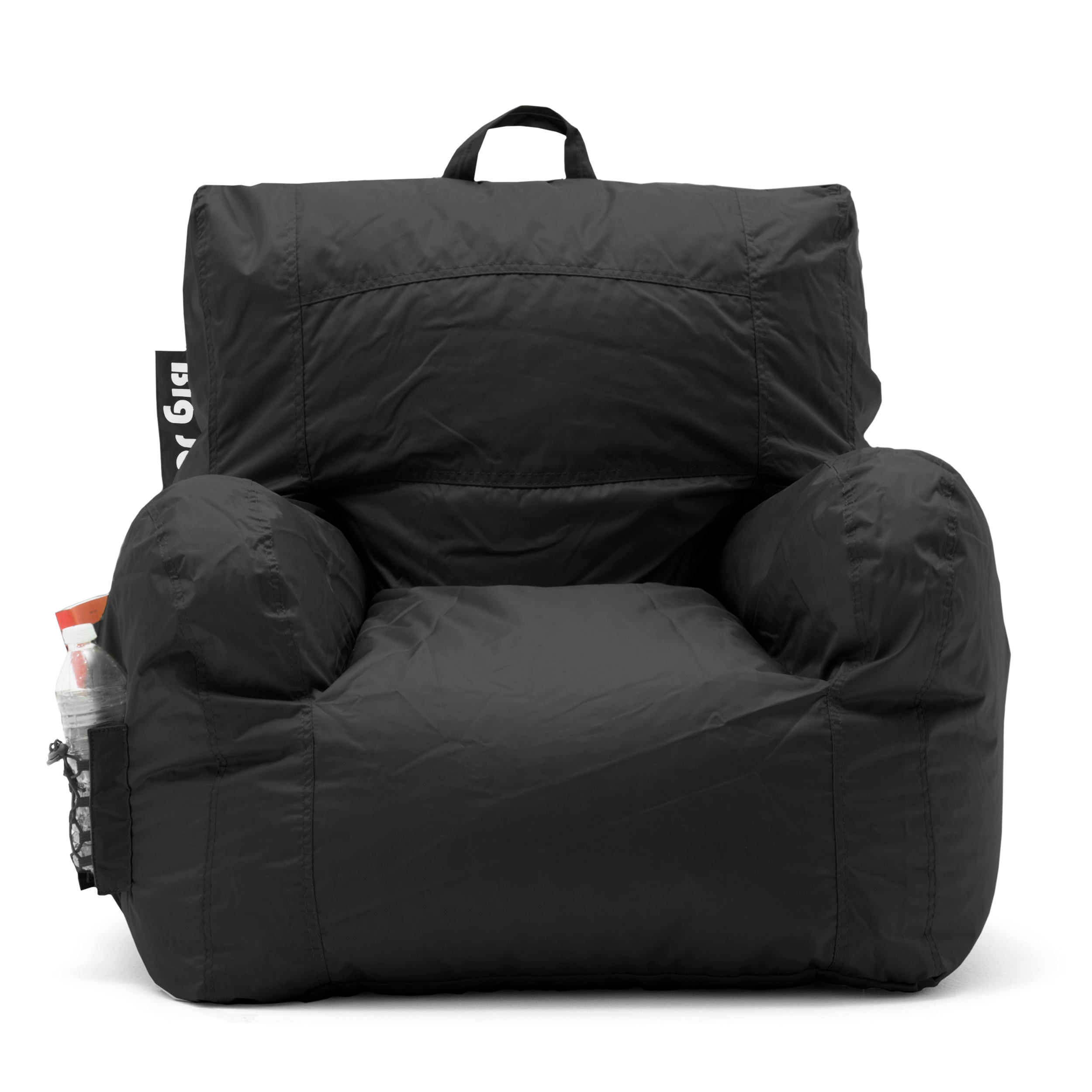 Big Joe Bean Bag Chair Black College Dorm Room Kids Video