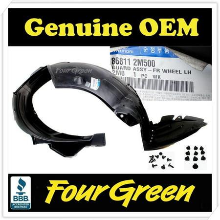 For GENESIS COUPE 13-16 Front Splash Shield Inner Fender Liner Left Driver Side