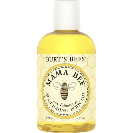 Burt's Bees 100% Natural Mama Bee Nourishing Body Oil, 4 Ounce Bottle ()