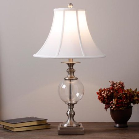 glass ball table lamp. Black Bedroom Furniture Sets. Home Design Ideas