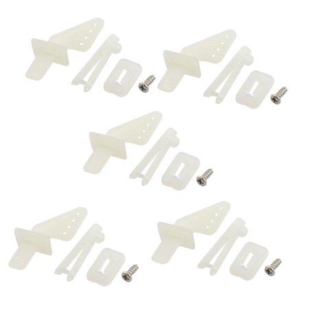 Unique Bargains 5Set Rudder Angle Quick Adjustment Rocker for RC Model Aircraft plane