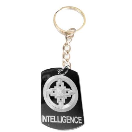 International Symbol For Intelligence Logo Symbols Metal Ring Key