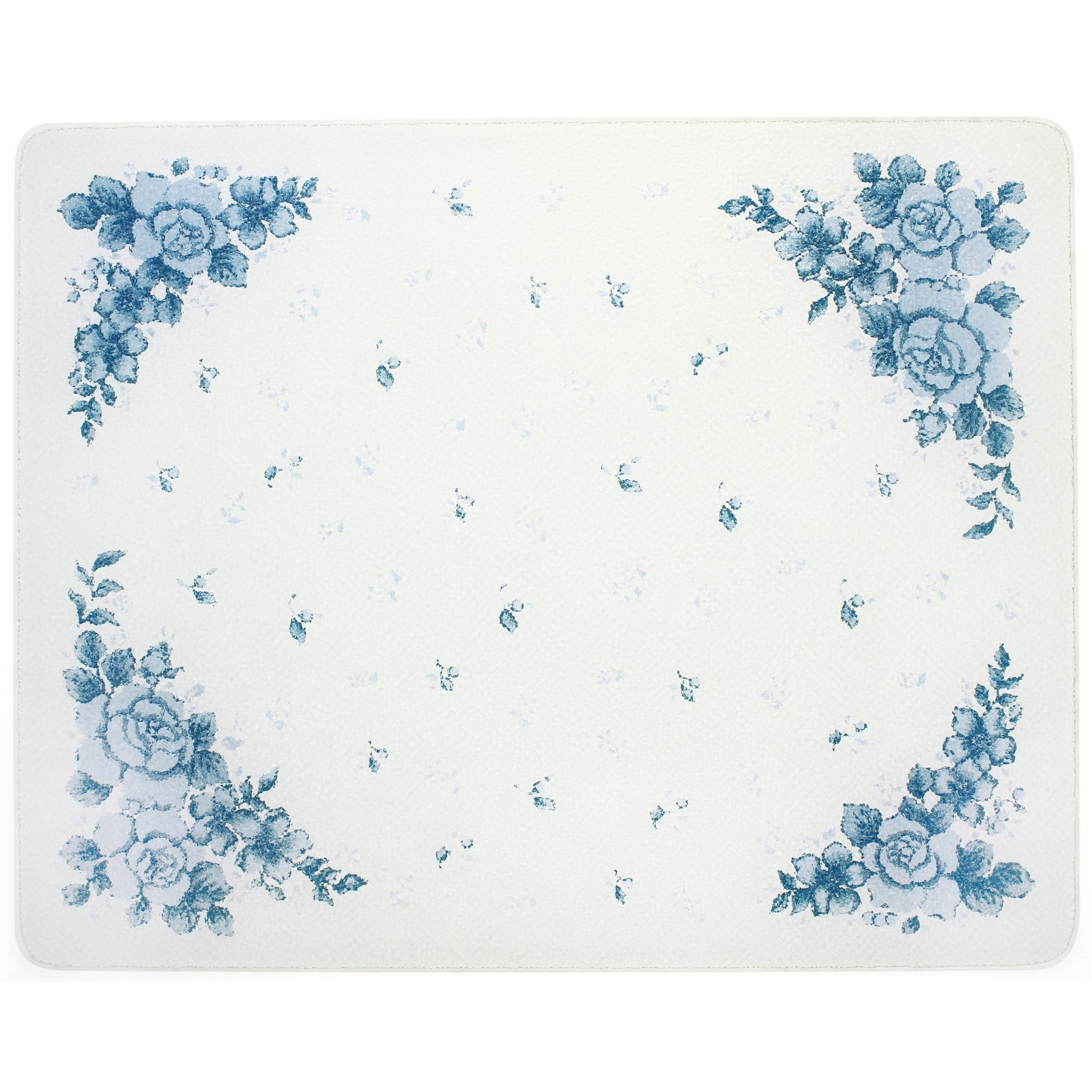 Corelle Blue Velvet 20 X 16 inch Counter Saver Tempered Glass Cutting Board, 92016VLTH
