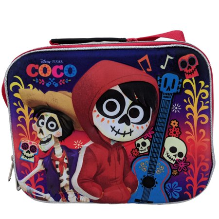 Coco Ice - Disney Coco Lunch Box Soft Kit Insulated Cooler Bag