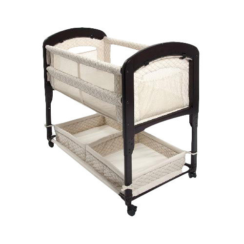 Arm's Reach Cambria Co-Sleeper Bedside Bassinet, Natural
