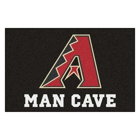 Arizona Diamondbacks Baseball Rug (MLB - Arizona Diamondbacks Man Cave Starter Rug 19