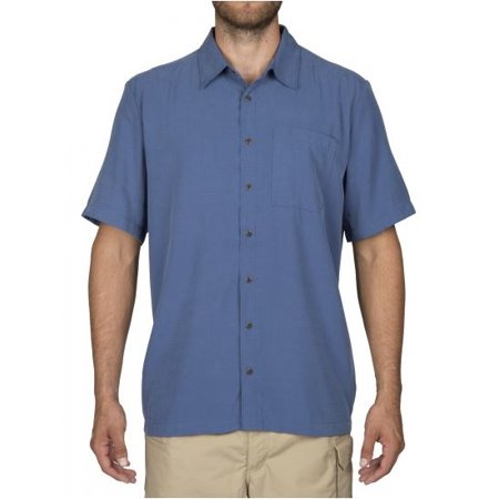 d28d347e4 Men's 5.11 Tactical Series Covert Shirt Short Sleeve, Cobalt Blue, Size XL