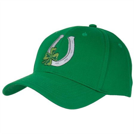 St. Patricks Day - Shamrock with Horseshoe Adjustable - Diy Hats