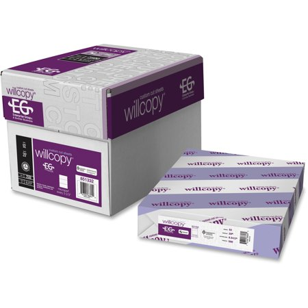 Custom Stationery - Domtar, DMR851332, Microperforated Custom Cut Sheets, 2500 / Carton, White