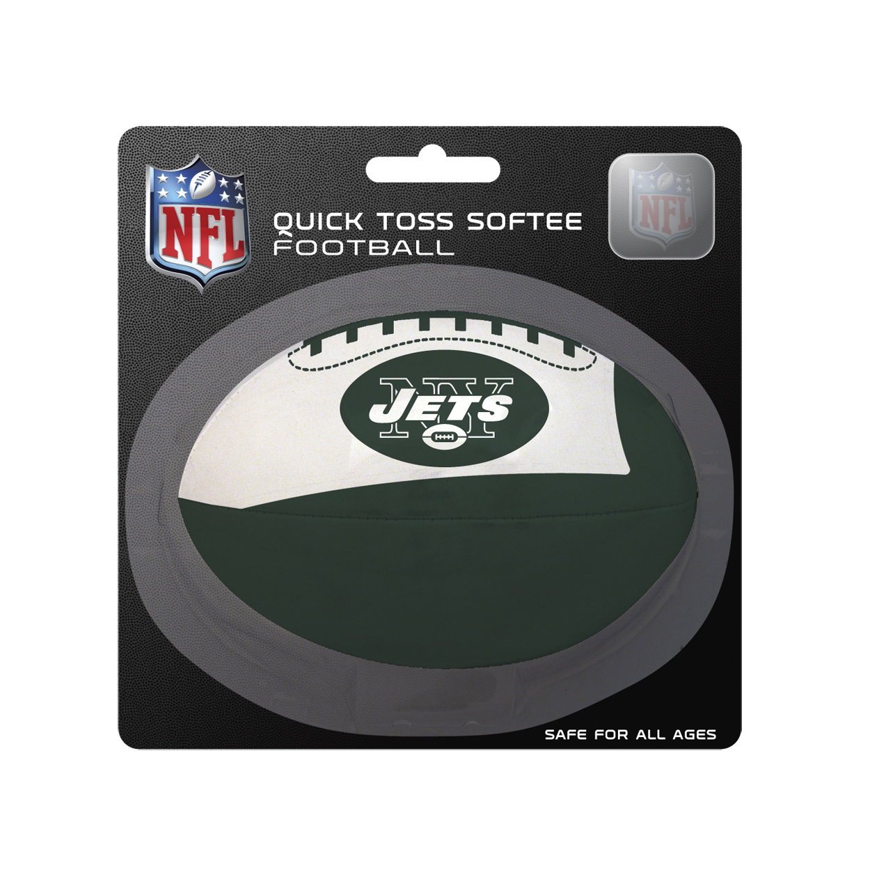 NFL New York Jets Quick Toss Football by Licensed Products