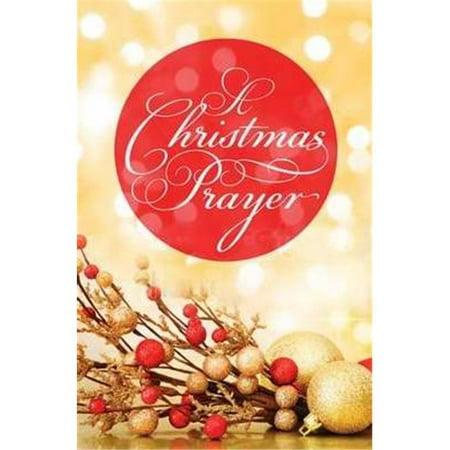 Crossway Books 122629 Tract - C - Christmas Prayer - KJV