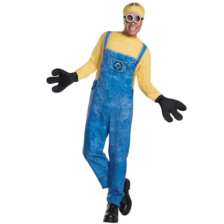 Mens Minion Dave Despicable Me Halloween Costume Medium (32-34) - Minions Despicable Me Halloween Costumes