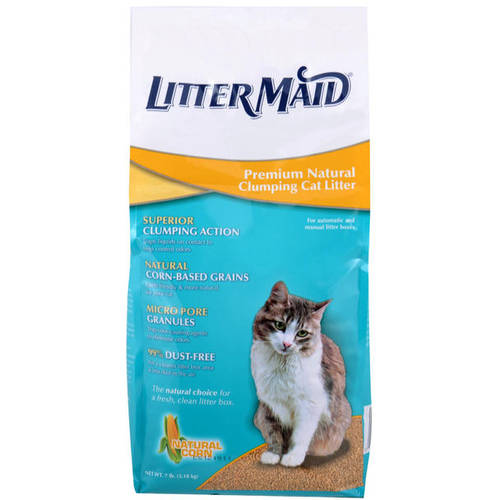 LitterMaid Premium Natural Clumping Cat Litter, 7 lbs.