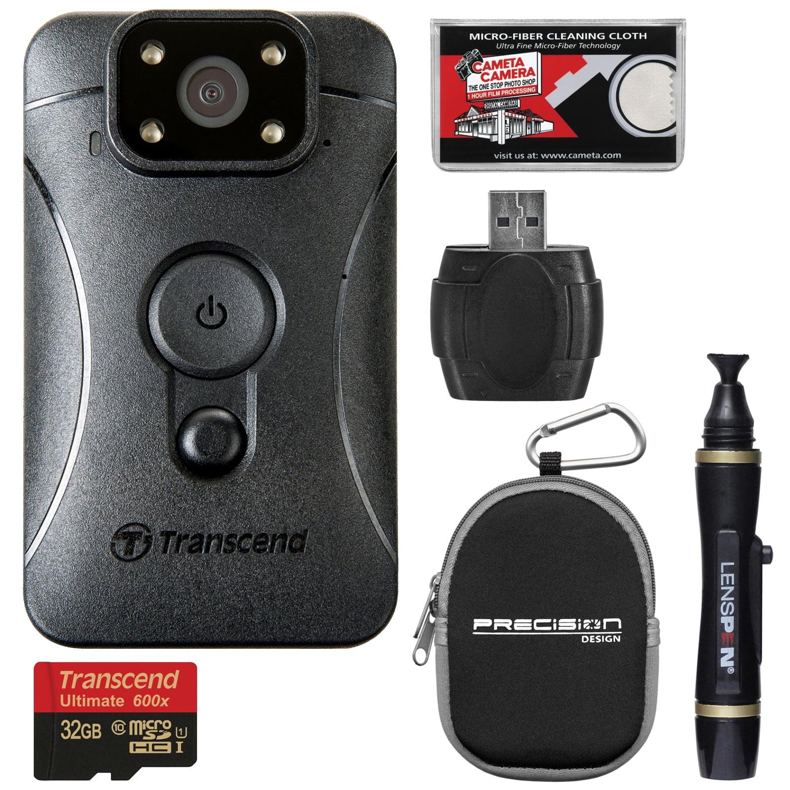 Transcend DrivePro Body 10 1080p HD Video Camera Camcorde...