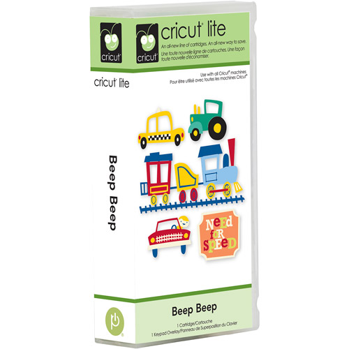 Cricut Lite Cartridge, Beep Beep