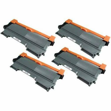 Classic Inkjet - Universal Inkjet Premium Compatible Brother TN450 Cartridge, High-Capacity Black, 4-Pack