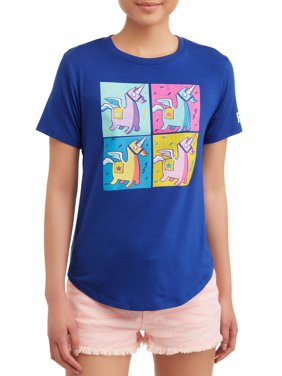 30ed7b5b Product Image Juniors' Unicorn Graphic Tee