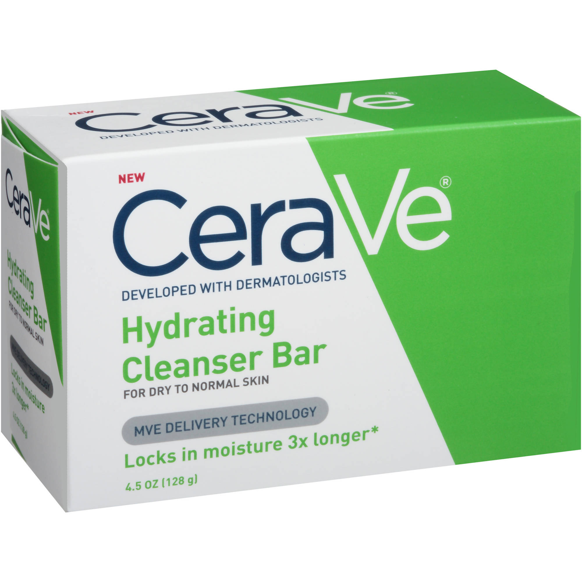 CeraVe Hydrating Cleanser Bar Soap, 4.5 oz