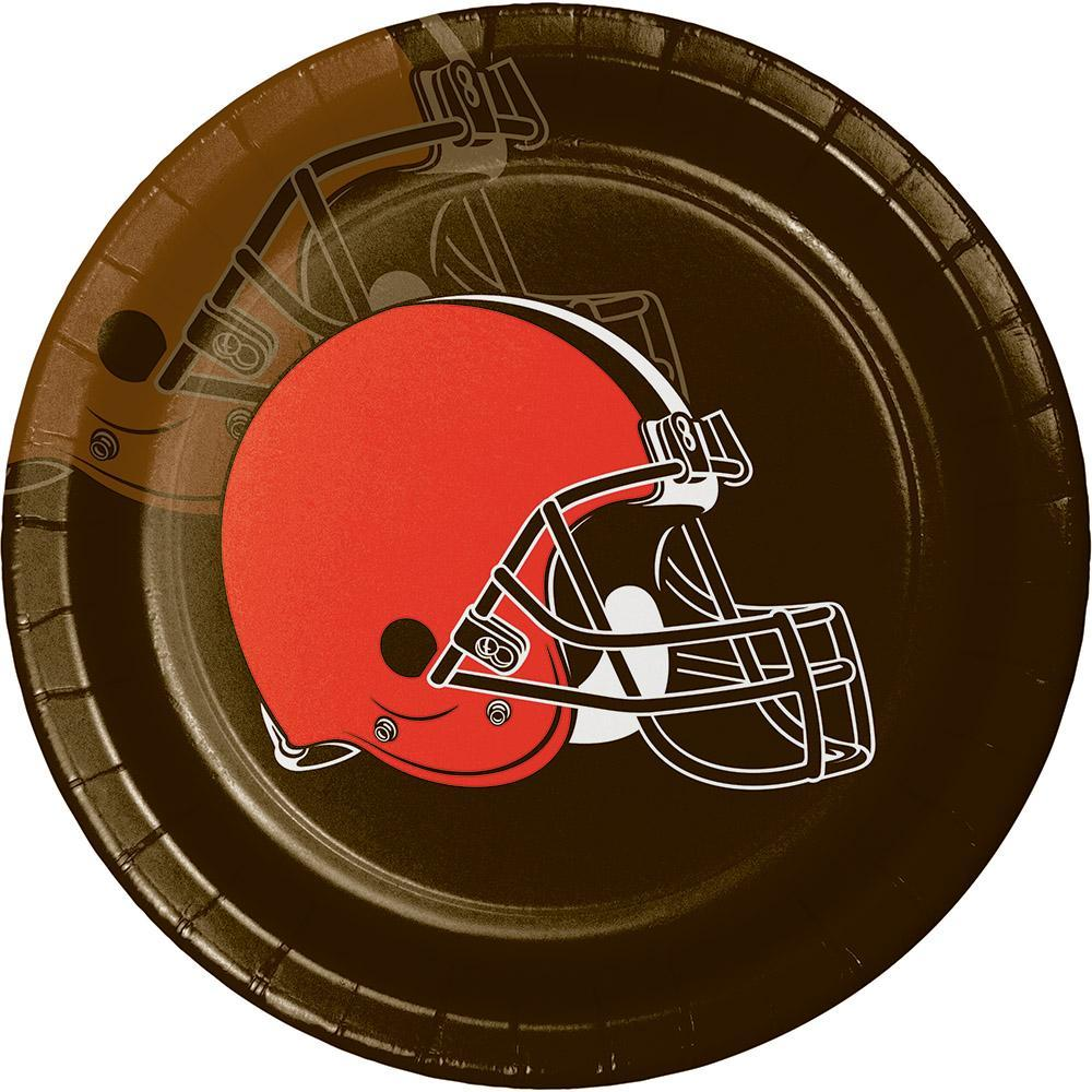 Creative Converting Cleveland Browns Paper Plates, 8 ct