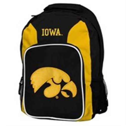 Iowa Hawkeyes Back Pack - Yellow Southpaw Style