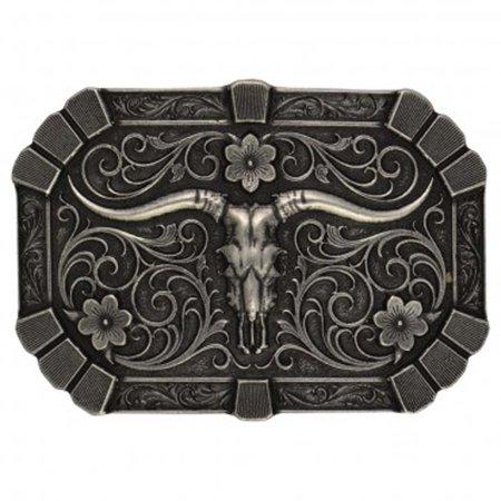 Montana Silversmiths Filigree Longhorn (Filigree Buckle)
