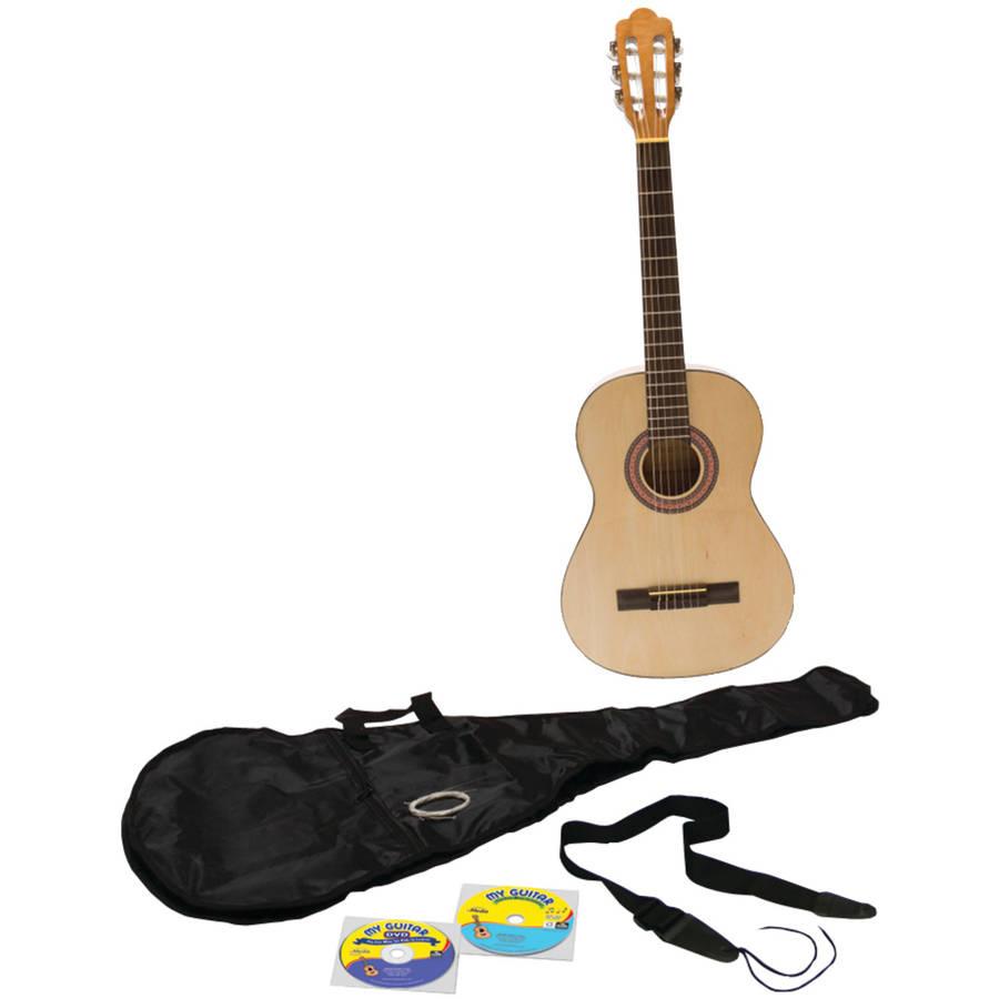 eMedia Music EG11131 My Guitar Beginner Pack with 3 4-Size Guitar by Emedia Music