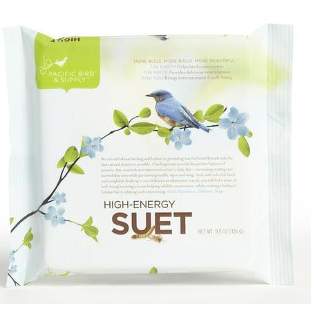 Pacific Bird & Supply PB-0029 11.5 oz High Energy Suet Cake