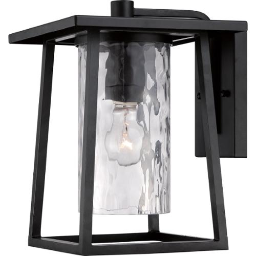 Quoizel 1-light Lodge Mystic Black Wall Lantern by Overstock