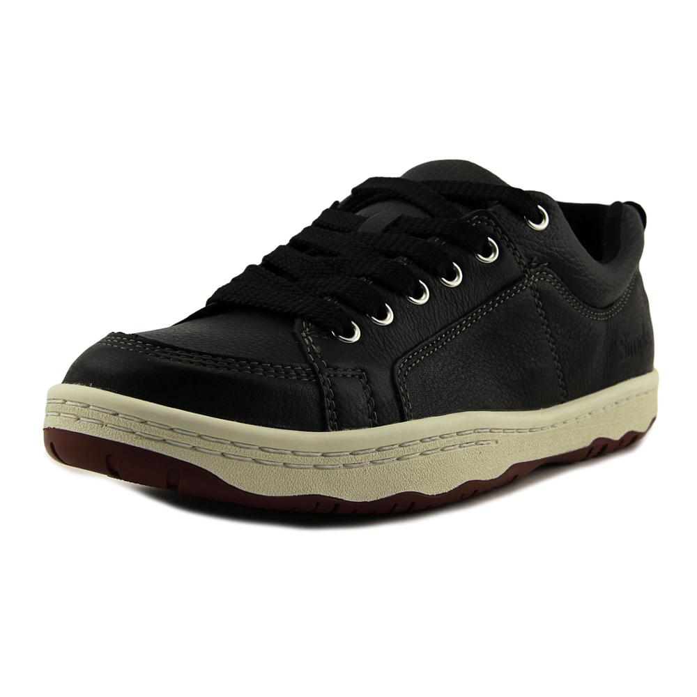 Simple Osneaker L Men   Leather Black Fashion Sneakers