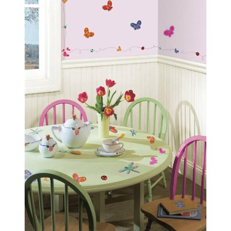 Jelly Bugs Border - Jelly Bugs Wall Decal Sticker - 5.5x11