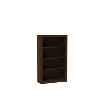 Image of Accentuations By Manhattan Comfort Classic Olinda Bookcase 2.0 With 4-Shelves-Finish: Tobacco