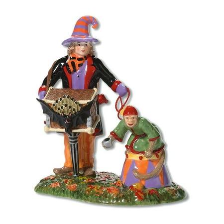 Halloween Snow Village (Department 56 Snow Village Halloween 56.53222 Ghastly Organ Grinder)