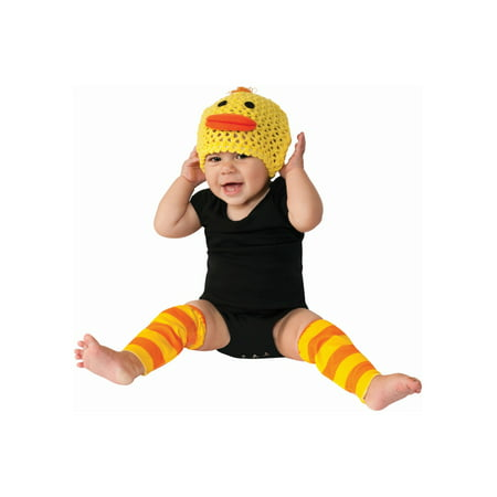 Duck Baby Costume 6?12 Months Animal Halloween Hat and Leg Accessories - Baby Duck Costumes Halloween