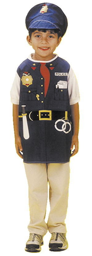 Dexter Toys Police Officer Costume by DEXTER EDUCATIONAL PLAY