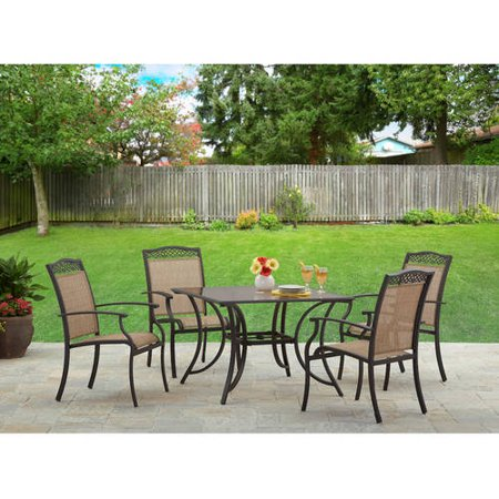Better Homes And Gardens Hampton 5pc Steel Sling Dining Room Set By