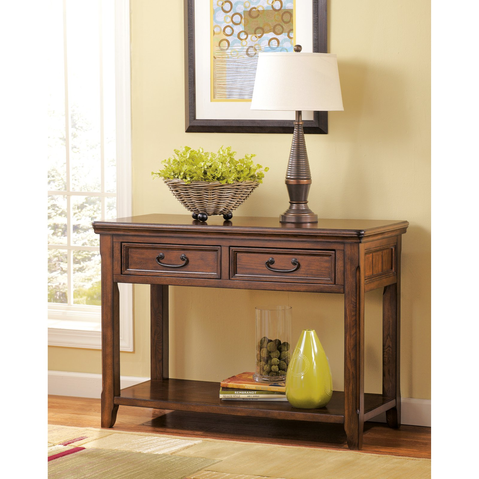 Signature Design by Ashley Woodboro Sofa Table by Ashley Furniture