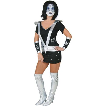KISS Sexy Spaceman Adult Womens - Kiss Spaceman Makeup