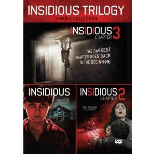 Insidious Trilogy: 3-Movie Collection - Insidious / Insidious: Chapter 2 / Insidious: Chapter 3 (Walmart Exclusive) (WALMART EXCLUSIVE)