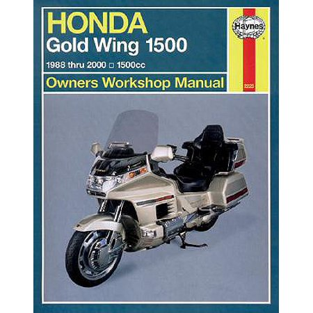 Honda Gl1500 Gold Wing Owners Workshop Manual : 1988-2000
