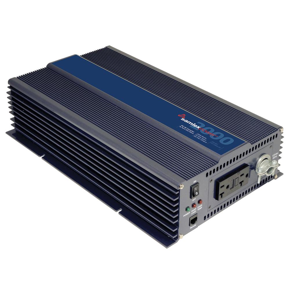 Samlex America PST-2000-24 Samlex 2000w Pure Sine Wave Inverter - 24v