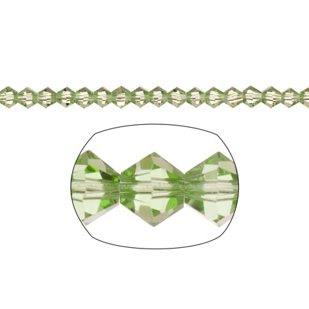Bicone Crystal Beads Green Faceted xilion Crystal For Jewelry Making mm 92Cnt Faceted Chalcedony Beads