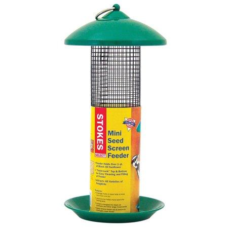 Stokes Select 38116 Mini Seed Screen Feeder, 1 (Stokes Select 38170 Sunflower Seed Screen Feeder)