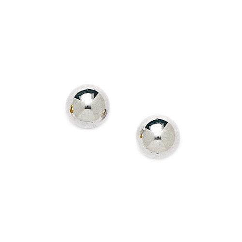 Jewelryweb Ball Stud Earrings
