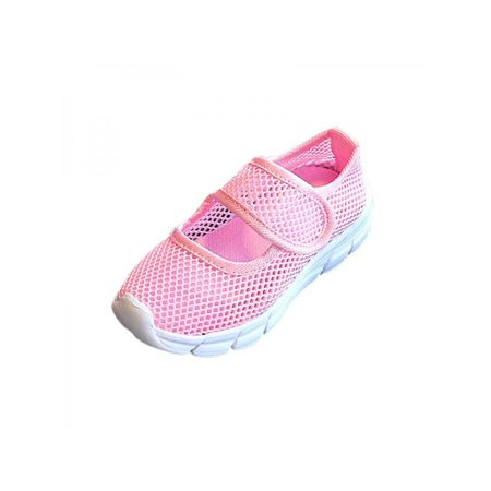 Kids Baby Candy Colors Casual Mesh Sneakers Boy Girl Summer Breathable Shoes