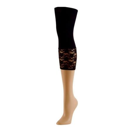 118b800ba MeMoi - MeMoi Lace Footless Tights