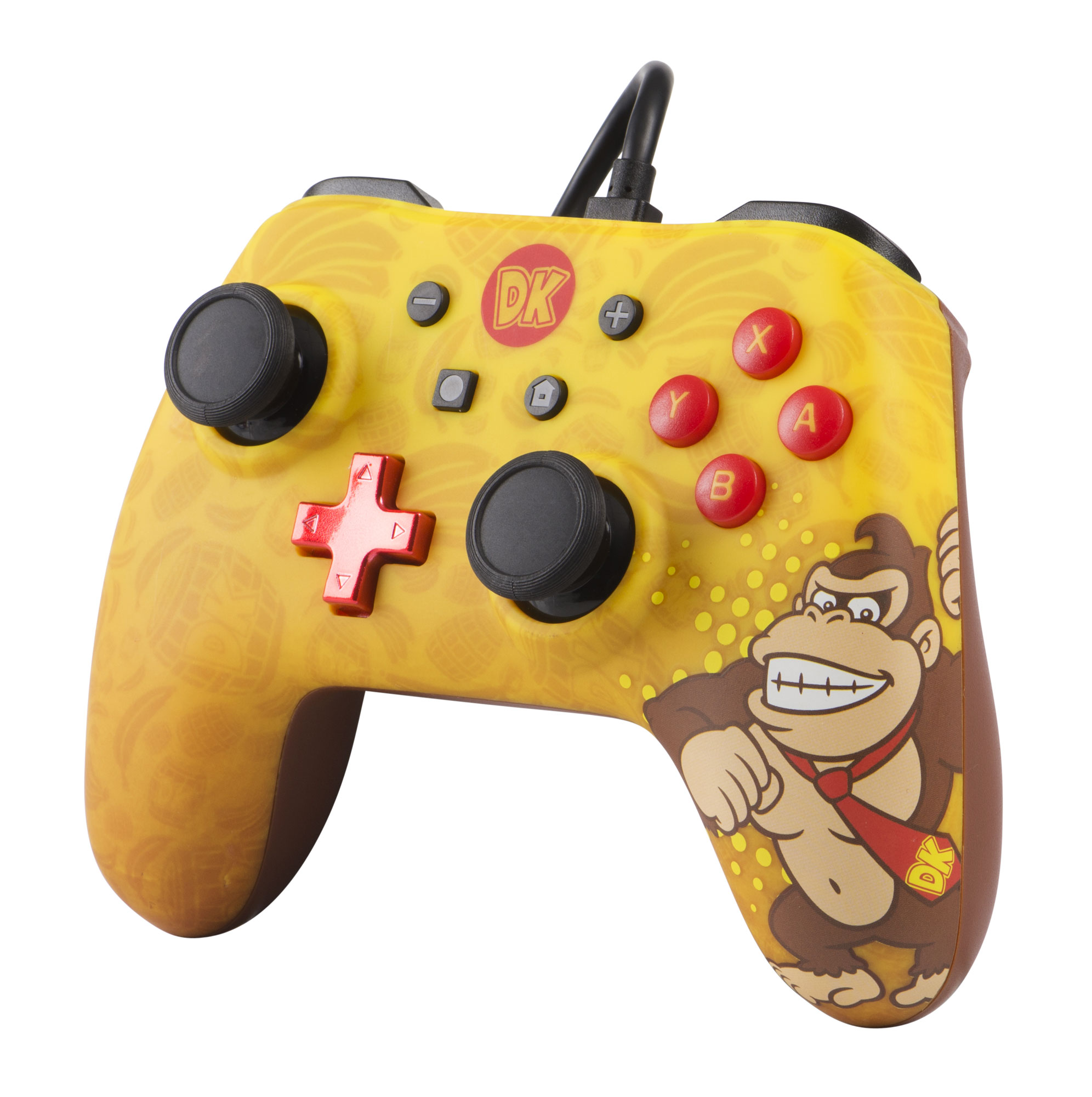 PowerA Wired Controller for Nintendo Switch – Donkey Kong (1506258-01)