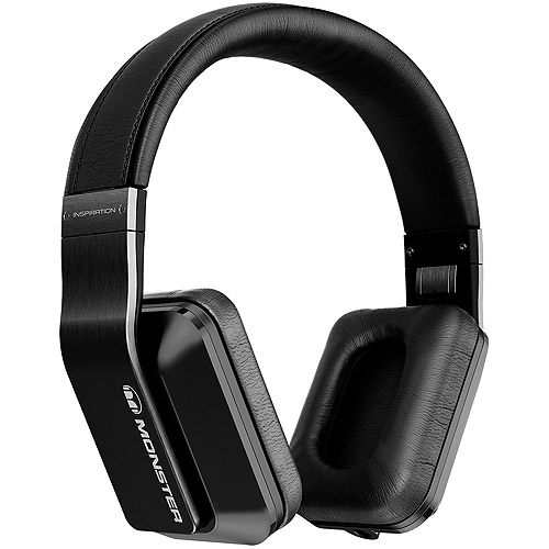 Monster Inspiration Noise-Isolating Over-Ear Headphones, Black