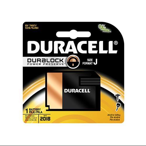 Duracell Size: At Pak Medical, Photo, Electronic Battery  J 6V  7K67B - Size: J  X  6 Pieces