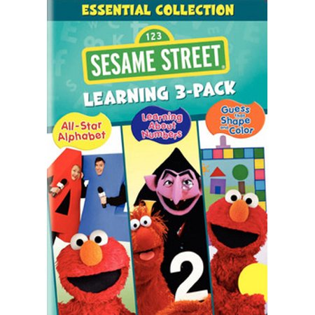 Sesame Street: Essentials Collection Learning (DVD) (Sesame Street Vampire Laugh)